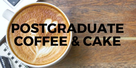 Postgraduate Coffee and Cake  tickets