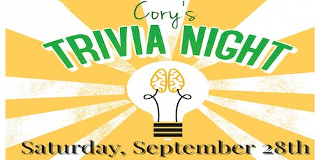 Cory's Trivia Night and Silent Auction tickets