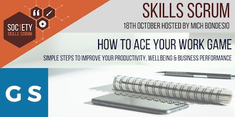 Skills Scrum - How To Ace Your Work Game. tickets