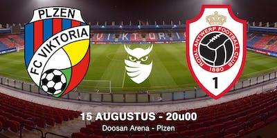 Wachtlijst tickets Viktoria Plzen - R. Antwerp FC - Europa League