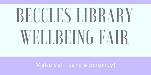 Beccles Library Wellbeing Fair