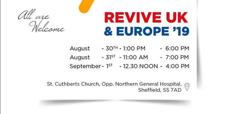 REVIVE UK & EUROPE CONFERENCE 2019 tickets