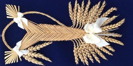 Wheat Weaving Workshop - half day tickets