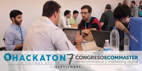 7 º Congreso Ecommaster : Hackaton de tiendas online tickets