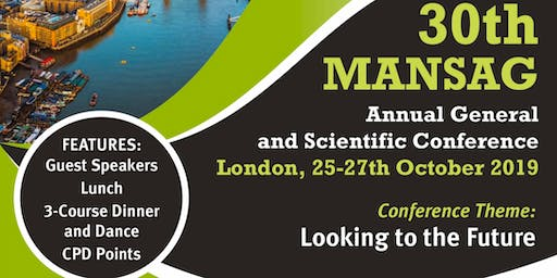 MANSAG ANNUAL SCIENTIFIC CONFERENCE & GALA DINNER