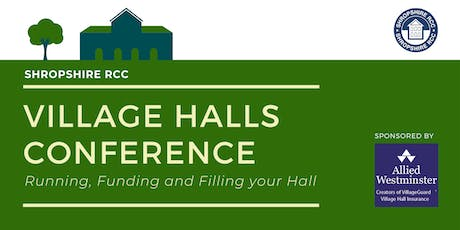 Shropshire Village Halls Conference tickets