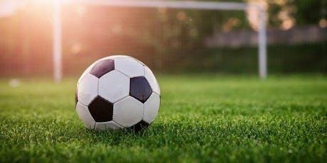 Recreatief voetbaltoernooi voor volwassenen tickets