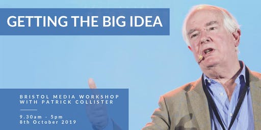 Getting the Big Idea: One-day workshop with Patrick Collister