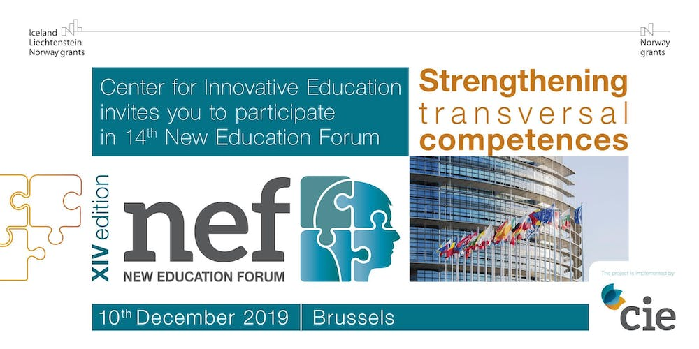 XIV New Education Forum in Brussels Tickets, Tue, Dec 10