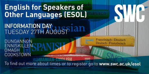 ESOL (English for Speakers of Other Languages) Information Day