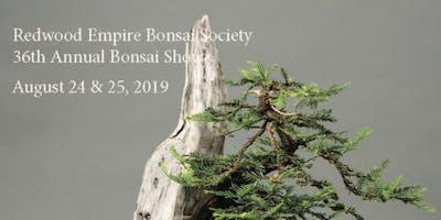 Redwood Empire Bonsai Society 36th Annual Show