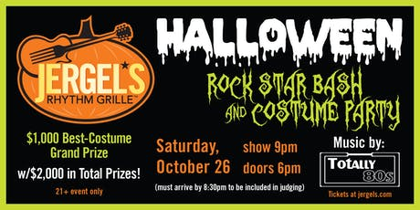 Halloween Rock Star Bash & Costume Party tickets