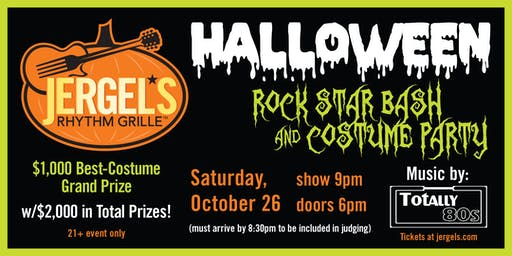 Halloween Rock Star Bash & Costume Party