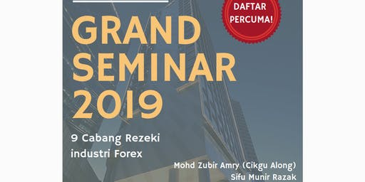 Grand Seminar 2019 PipHijauLTD