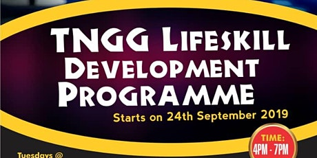 TNCG Life Skills Development Programme tickets