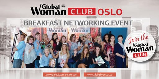GLOBAL WOMAN CLUB OSLO: BUSINESS NETWORKING BREAKFAST - OCTOBER