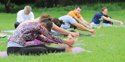 Yoga & Picnic in Ewell Court Park   Ewell Court Ho