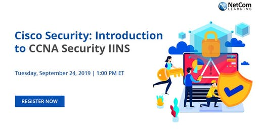 Webinar - Cisco Security: Introduction to CCNA Security IINS