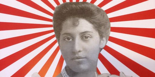 ART EAT - Princess Sophia Duleep Singh Mural paint up with ARTFUL SKECHA