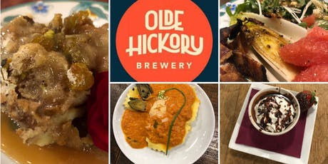 Beer Dinner featuring Chef Kelly DeLaire and Olde Hickory Brewery tickets
