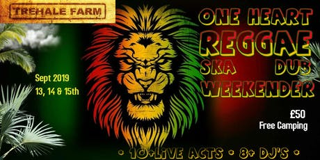 One Heart, Reggae, Ska, Dub Weekender tickets