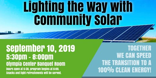 Lighting the Way with Community Solar