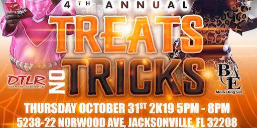 4th Annual Treats No Tricks