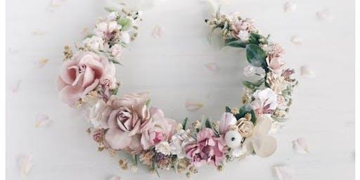 DIY Flower Crown & Floral Infused Skincare Bar