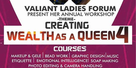Creating Wealth as a Queen 4 tickets