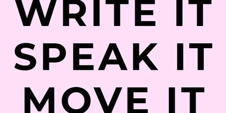 Rita Munas: Write It Speak It Move It tickets