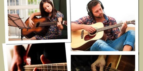 Free Guitar Lessons: Inspire Music School Guitar Open Day September 2019 tickets
