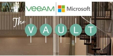 Join Veeam and Microsoft at The Vault