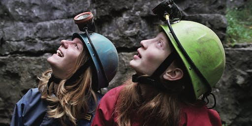 Caving from YHA Edale - National GetOutside Day