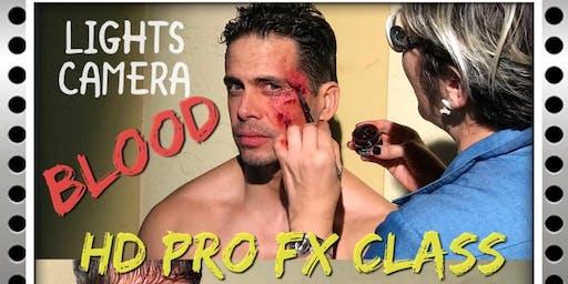 LIGHTS CAMERA BLOOD!   HD PRO FX CLASS