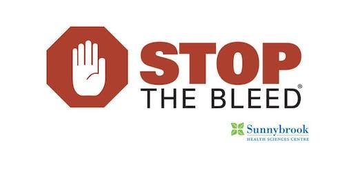 Stop the Bleed - September 2019
