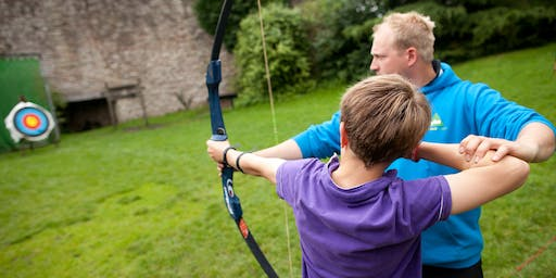 Archery from YHA Edale - National GetOutside Day