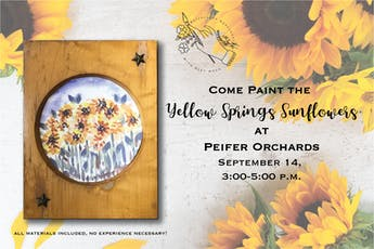 Paint the Yellow Springs Sunflowers tickets