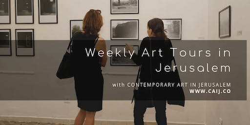 Weekly Gallery Hop in Jerusalem - August 2019