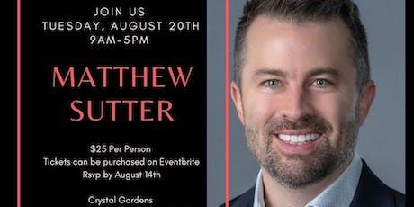 Matthew Sutter tickets