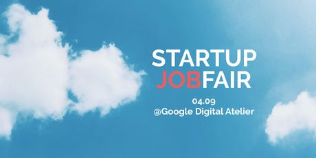 Startup Jobfair // September 2019 tickets