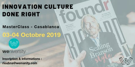 Innovation culture done right  tickets