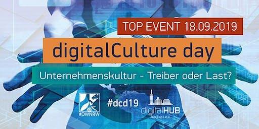 #dcd19 – der digitalCulture day im digitalHUB Aachen