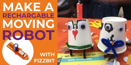 Crafty Robot Fizzbot Workshop - build a moving robot tickets
