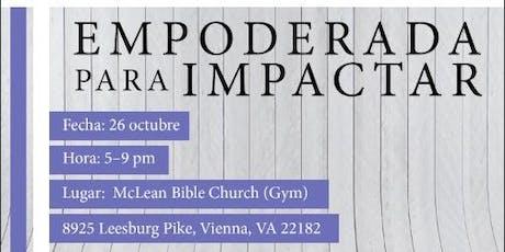 EMPODERADA PARA IMPACTAR tickets