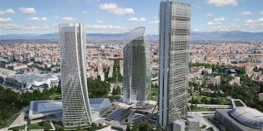Visita tecnica al cantiere della Torre Libeskind - CityLife di Milano