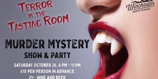 Sold Out! Terror in the Tasting Room Murder Mystery Party