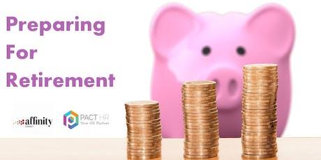 Preparing for Retirement - Teacher's Pension Scheme tickets
