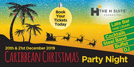 Caribbean Christmas Party Night tickets