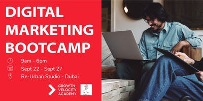 One Week Intensive Digital Marketing Bootcamp- Dubai