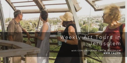 Weekly Outdoor Art Tour in Jerusalem - August 2019